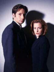 xfiles-mulder and scully
